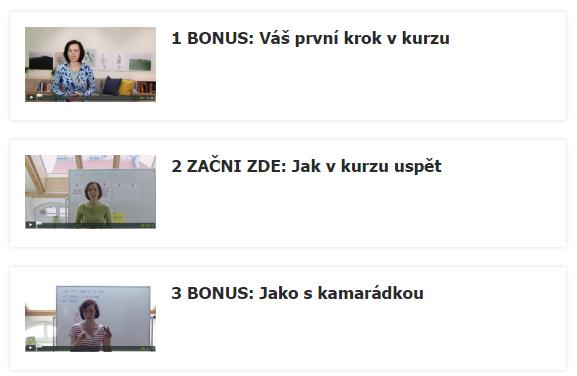 Bonusy Edice