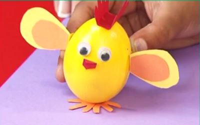 Vajíčkové kuřátko