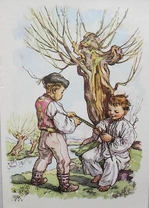 Velikonoční říkanky děti2