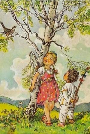 Velikonoční říkanky děti3