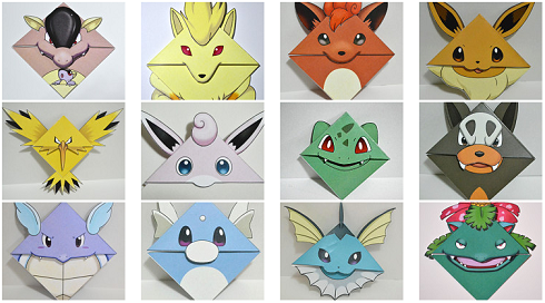 Pokemon-Bookmarks