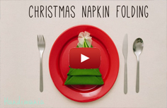 Christmass napkin - tree