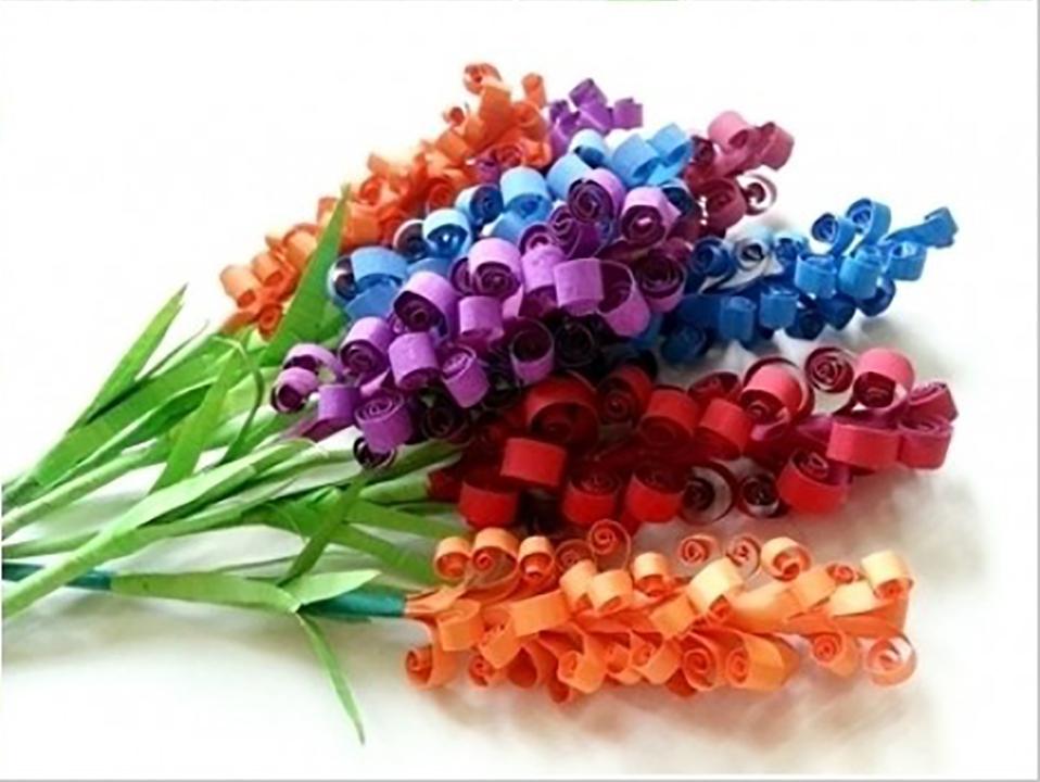 Květiny zpapíru - kreativní domov-zvetšený 0