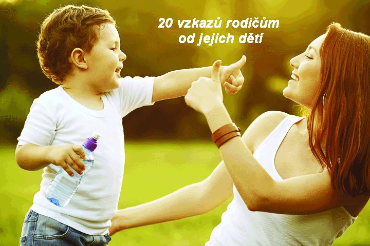 20 zkazů rodičům od jejich dětí